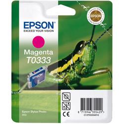 Epson - Epson T0333-C13T03334020 Kırmızı Orjinal Kartuş