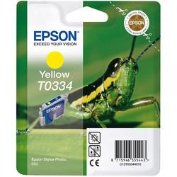Epson - Epson T0334-C13T03344020 Sarı Orjinal Kartuş