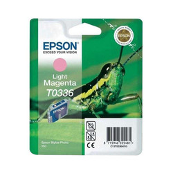 Epson - Epson T0336-C13T03364020 Açık Kırmızı Orjinal Kartuş