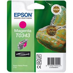 Epson - Epson T0343-C13T03434020 Kırmızı Orjinal Kartuş