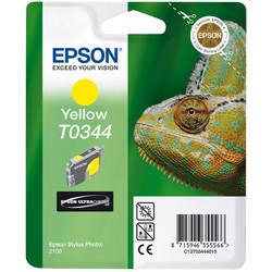 Epson - Epson T0344-C13T03444020 Sarı Orjinal Kartuş
