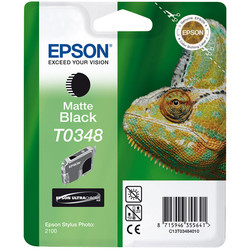 Epson - Epson T0348-C13T03484020 Mat Siyah Orjinal Kartuş