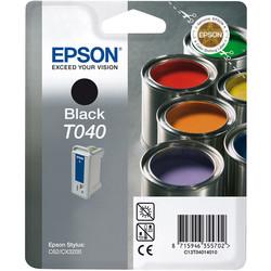 Epson - Epson T040-C13T04014020 Siyah Orjinal Kartuş