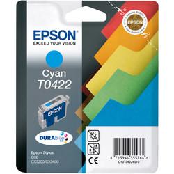 Epson - Epson T0422-C13T04224020 Mavi Orjinal Kartuş