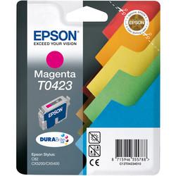 Epson - Epson T0423-C13T04234020 Kırmızı Orjinal Kartuş
