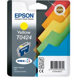 Epson - Epson T0424-C13T04244020 Sarı Orjinal Kartuş
