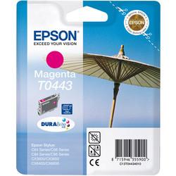 Epson - Epson T0443-C13T04434020 Kırmızı Orjinal Kartuş