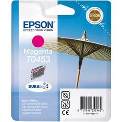 Epson - Epson T0453-C13T04534020 Kırmızı Orjinal Kartuş