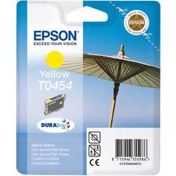 Epson - Epson T0454-C13T04544020 Sarı Orjinal Kartuş
