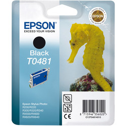 Epson - Epson T0481-C13T04814020 Siyah Orjinal Kartuş