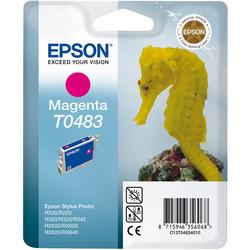 Epson - Epson T0483-C13T04834020 Kırmızı Orjinal Kartuş