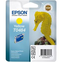 Epson - Epson T0484-C13T04844020 Sarı Orjinal Kartuş