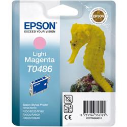 Epson - Epson T0486-C13T04864020 Açık Kırmızı Orjinal Kartuş