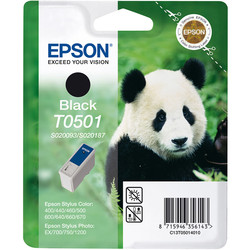 Epson - Epson T0501-C13T05014020 Siyah Orjinal Kartuş