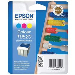 Epson - Epson T0520-C13T05204020 Renkli Orjinal Kartuş