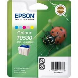 Epson - Epson T0530-C13T05304020 Renkli Orjinal Kartuş