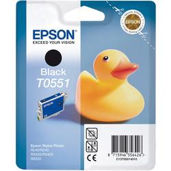 Epson - Epson T0551-C13T05514020 Siyah Orjinal Kartuş