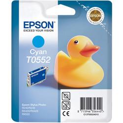 Epson - Epson T0552-C13T05524020 Mavi Orjinal Kartuş