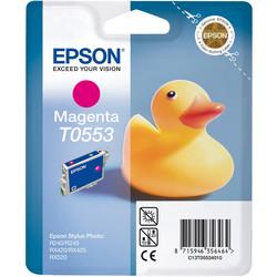 Epson - Epson T0553-C13T05534020 Kırmızı Orjinal Kartuş