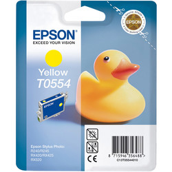 Epson - Epson T0554-C13T05544020 Sarı Orjinal Kartuş