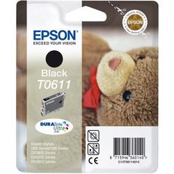 Epson - Epson T0611-C13T06114020 Siyah Orjinal Kartuş