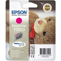 Epson - Epson T0613-C13T06134020 Kırmızı Orjinal Kartuş