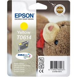 Epson - Epson T0614-C13T06144020 Sarı Orjinal Kartuş