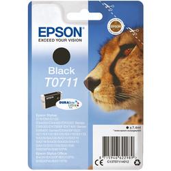 Epson - Epson T0711-C13T07114021 Siyah Orjinal Kartuş