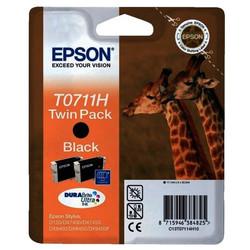 Epson - Epson T0711H-C13T07114H20 Siyah Orjinal Kartuş