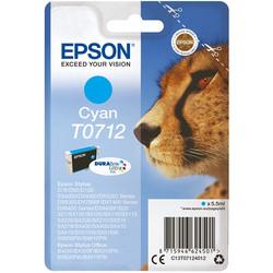 Epson - Epson T0712-C13T07124021 Mavi Orjinal Kartuş