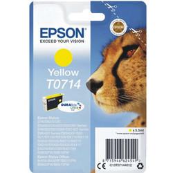 Epson - Epson T0714-C13T07144021 Sarı Orjinal Kartuş