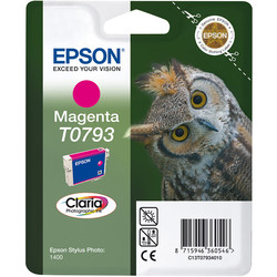 Epson - Epson T0793-C13T07934020 Kırmızı Orjinal Kartuş