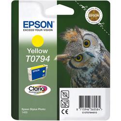 Epson - Epson T0794-C13T07944020 Sarı Orjinal Kartuş