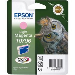 Epson - Epson T0796-C13T07964020 Açık Kırmızı Orjinal Kartuş