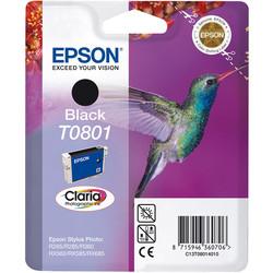 Epson - Epson T0801-C13T08014020 Siyah Orjinal Kartuş