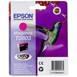 Epson - Epson T0803-C13T08034020 Kırmızı Orjinal Kartuş