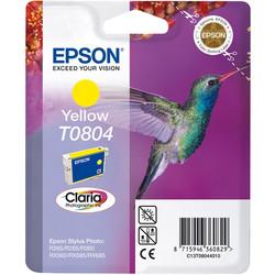 Epson - Epson T0804-C13T08044020 Sarı Orjinal Kartuş