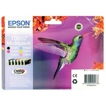 Epson T0807-C13T08074021 Orjinal Kartuş Avantaj Paketi