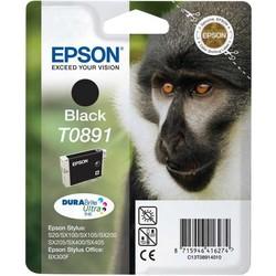 Epson - Epson T0891-C13T08914020 Siyah Orjinal Kartuş