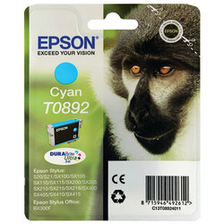 Epson - Epson T0892-C13T08924020 Mavi Orjinal Kartuş