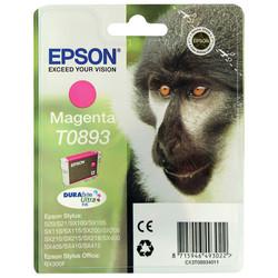 Epson - Epson T0893-C13T08934020 Kırmızı Orjinal Kartuş
