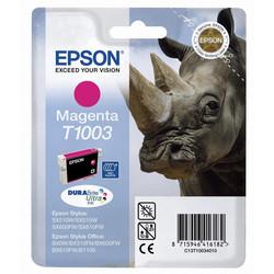 Epson - Epson T1003-C13T10034020 Kırmızı Orjinal Kartuş