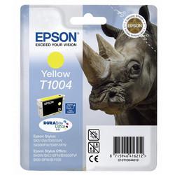 Epson - Epson T1004-C13T10044020 Sarı Orjinal Kartuş