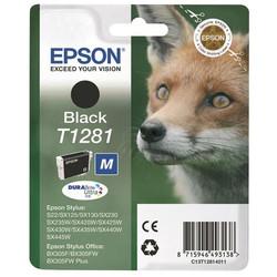 Epson - Epson T1281-C13T12814020 Siyah Orjinal Kartuş