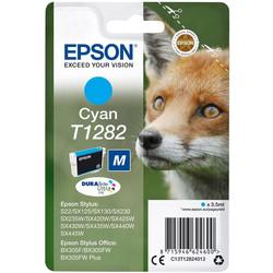 Epson - Epson T1282-C13T12824020 Mavi Orjinal Kartuş