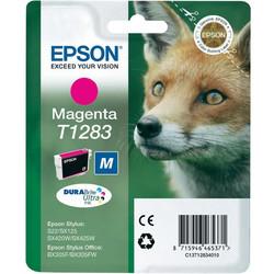 Epson - Epson T1283-C13T12834020 Kırmızı Orjinal Kartuş