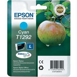 Epson - Epson T1292-C13T12924010 Mavi Orjinal Kartuş