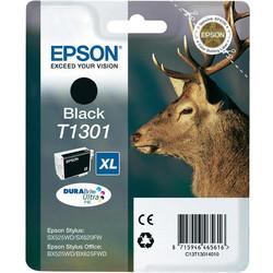 Epson - Epson T1301-C13T13014020 Siyah Orjinal Kartuş