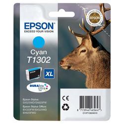 Epson - Epson T1302-C13T13024020 Mavi Orjinal Kartuş