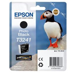 Epson - Epson T3241-C13T32414010 Foto Siyah Orjinal Kartuş